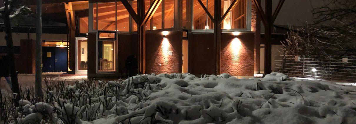 Thomas Kirche im Schnee